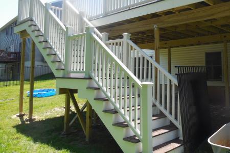 raised deck